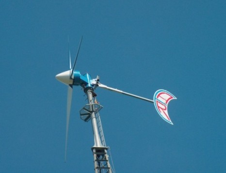 Abundant Renewable Energy ARE442 wind turbine
