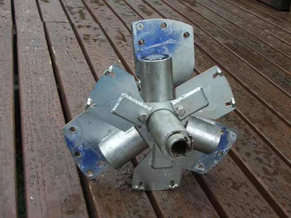 kestrel wind turbine old blade pitch mechanism