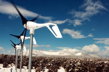 southwest windpower air x air breeze wind turbine