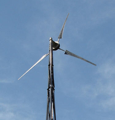 Ventera VT10 downwind wind turbine