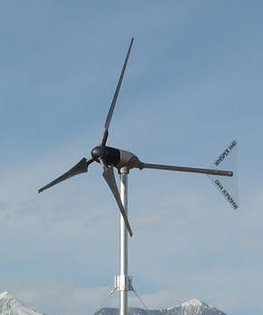 southwest windpower whisper 100 / 200 wind turbine