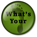 What's your carbon footprint button green