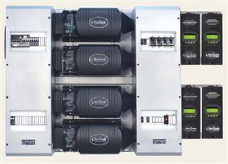 stacked outback inverters