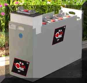 Hup solar one industrial deep cycle battery bank
